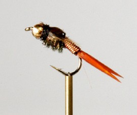 Bead Head Copper Nymph