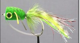 New Ultra Foam Bass Popper Frog Fly