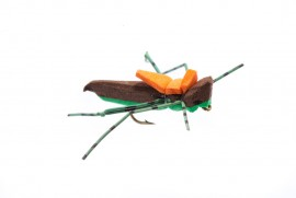 Moorish Hopper Brown/Green