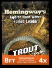 Hemingway's Furled Leader 8ft 4x