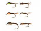 18 Pheasant Tail Nymph Collection 18 mixed Pheasant Tail