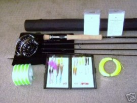 8wt SALTWATER FLY FISHING ROD REEL HI END COMBO  WARRANTY ORIGINAL OWNER LIFETIME WARRANTY