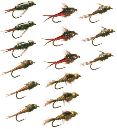 bead head nymph collection - trout flies australia-fly fishing, Fly Fishing Bait
