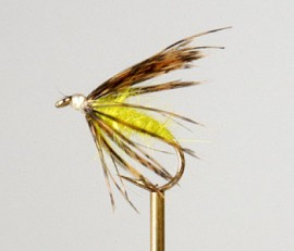 Caddis Pupa Bright Green
