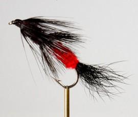 Fuzzy Wuzzy Red/Black Streamer