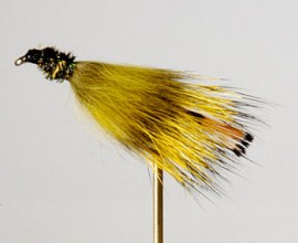 Sloans Fur Fly Olive Streamer
