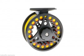 Aluminium Cast Fully Loaded Fly Reel with line of your choice 3/4/5