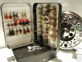 48 Of The Best Dry Fishing Flies In Aluminium Fly Box