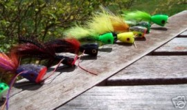 9 Poppers Saltwater & Freshwater