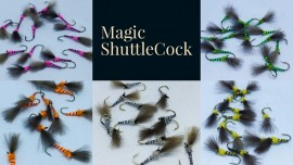 Magic Quill shuttlecock emerger