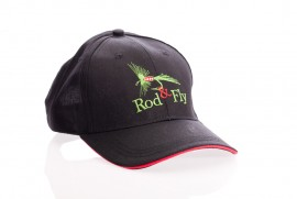Rod & Fly  Embroidered Logo Cap