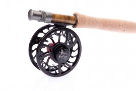 KAYAK FLY FISHING HI END COMBO 8ft.LW 4/5  4 SEC Rod,Fly Reel, Lines, Backing  Fly box  with 25 go to best sellers  WARRANTY ORIGINAL OWNER LIFETIME WARRANTY