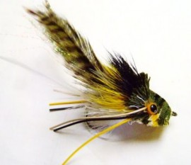 Deer Hair Bass Bug Swimming Frog