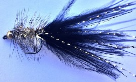 Bead Head Black & Gold Humongous Barbless