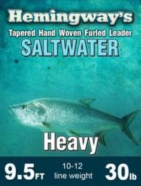 Hemingway's Furled Saltwater Leader