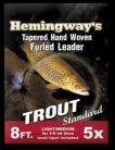Hemingway's Furled Leader 8ft 5x
