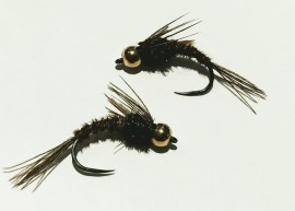 (NEW) Barbless Inward point hook Bead Head Pheasant Tail Nymph