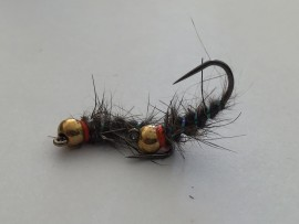 Tungsten Jig Hare And Flash Rib