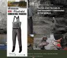 WADERTEK convertible waders (Pre Orders Sept)