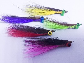 Clouser Carp,Bass,estuary natives new colours