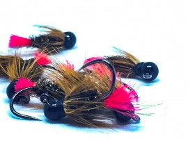Black Tungsten Jig Red Tag
