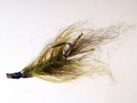 Inverted Leach Carp Fly