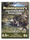 Hemingway's Furled Leader 6.5ft 1-3wt