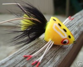 Sneaky Pete Yellow Bass Popper