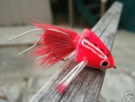 Sneaky Pete Red Bass Poppers