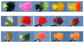 15 Assorted  Blob Collection -  Anglers Want it Banned