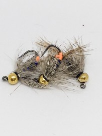 Tungsten Jig Hares Ear Partridge Blue