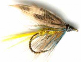 Invicta Yellow Caddis sedge Wet Fly