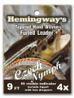 Hemingway's Furled Czech Nymphing Leader 9ft 4x
