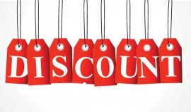 Discounts In All Departments On Now