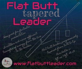 Flat Butt Tapered leaders