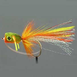Ultra Foam Fire Tiger Bass Popper