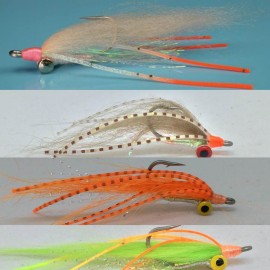 Bone-fish Gotcha Spawning Shrimp Silly Legs collection