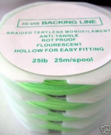 Hi-Vis  Saltwater Backing line 4 spools 25lb~ 100m