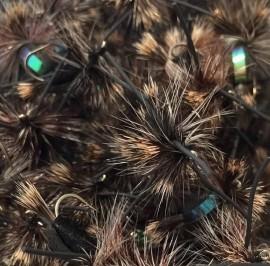 Black Foam Blowfly Rubber Legs