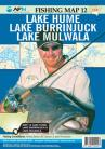 NSW Lakes 3 •Lake Hume •Lake Burrinjuck •Lake Mulwala Map 12: