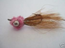 Mini Puff Pink & Tan