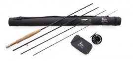 NEW ZEALAND HI END FLY FISHING COMBO  WARRANTY ORIGINAL OWNER LIFETIME WARRANTY