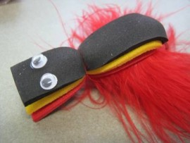 COD GURGLER RED/BLACK