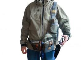 Fly Fishing Sling Pack Chest & Shoulder Bag
