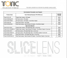 Tonic Eye-wear  Prescription Lens Program  from $470.00