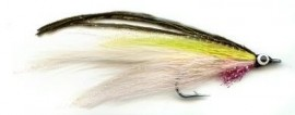 Lefty Deceiver Chartreuse/White