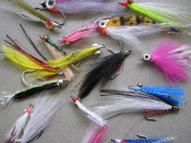 20 saltwater fly fishing flies introduction sample pack for Salt water fly fishing