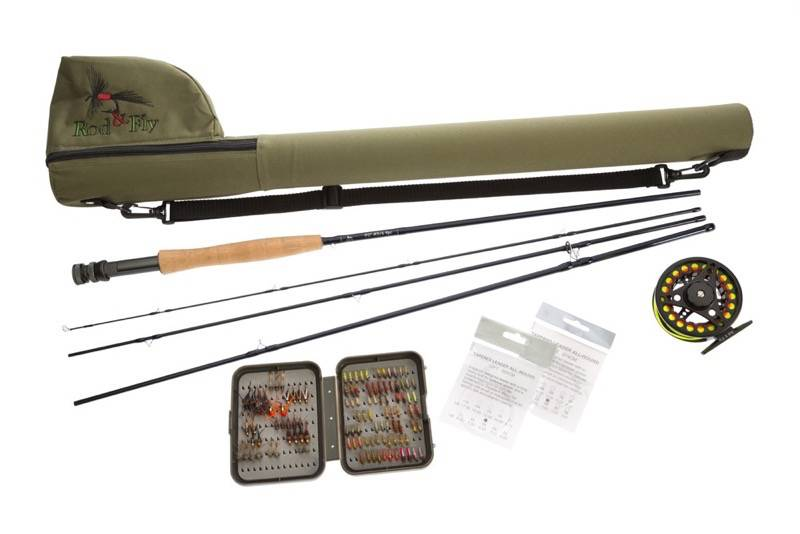 Fly fishing combo starter entry intermediate level trout for Online fly fishing store
