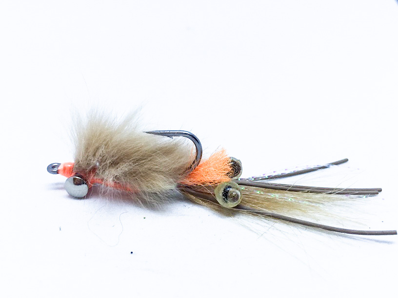 e68c84d9b74 Spawning Shrimp Saltwater fishing fly - Trout Flies Australia-Fly ...