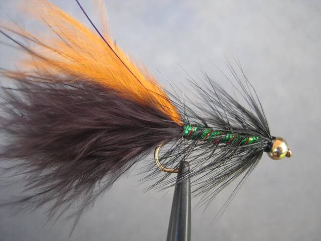 Black shrek trout flies australia fly fishing products for Online fly fishing store